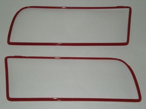 Front Grille Trim Set, Red Colour