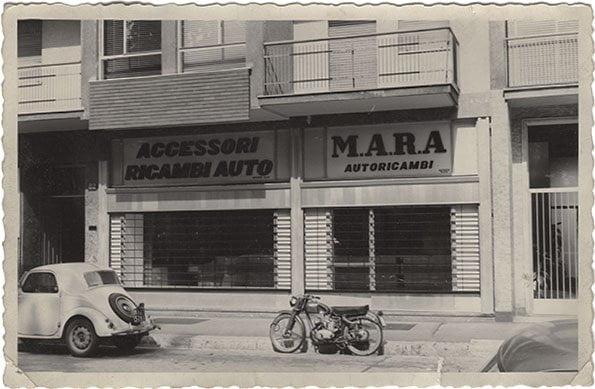 Vetrina M.A.R.A. - 1960